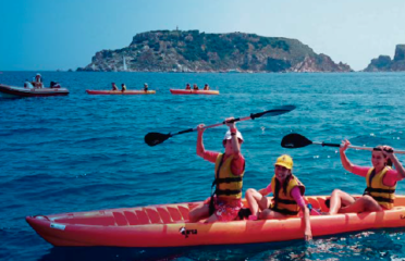 Excursions guidées en Kayak et en Stand Up Paddle