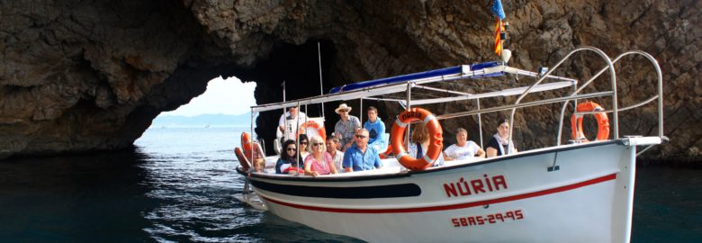 Excursion maritime en bateau traditionel catalan